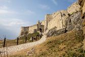 спишский замок в словакии — Стоковое фото
