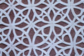 Patterned Wall decoration — Stock Photo