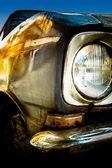 Oude auto detail — Stockfoto