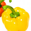 Royalty-Free Stock Photo: Red and yellow peppers