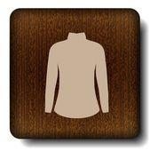 Dress icon — Cтоковый вектор