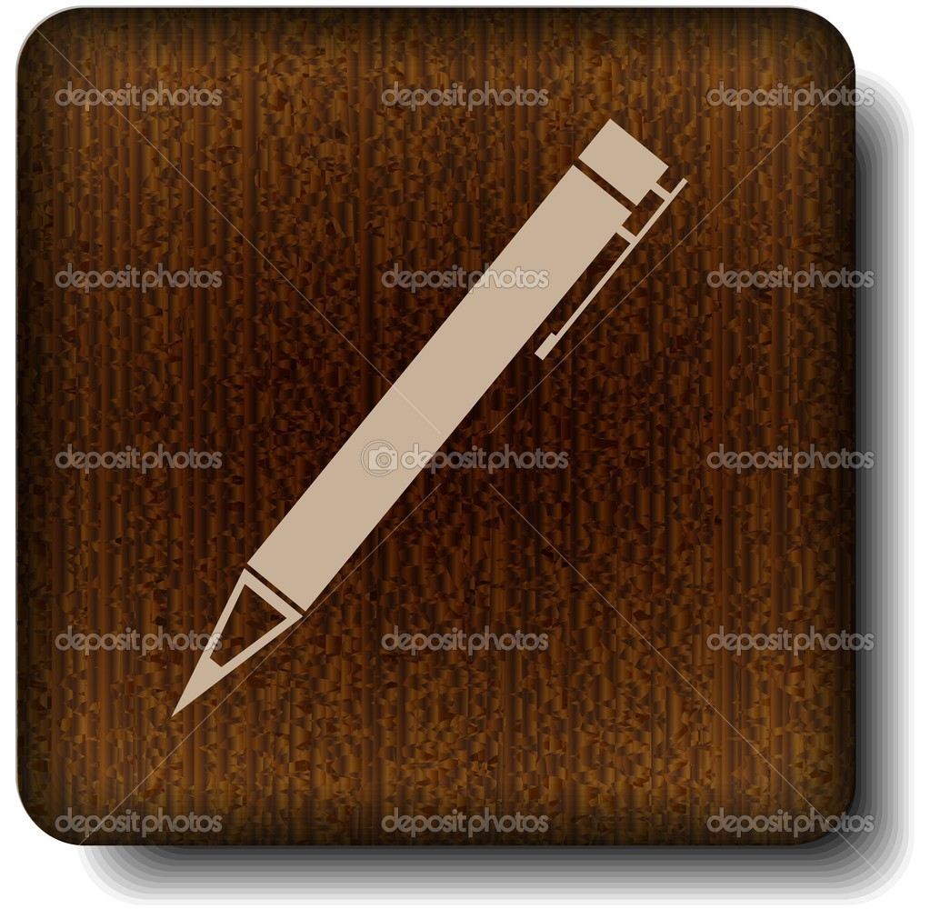 Pen icon — Stock Vector #12212053