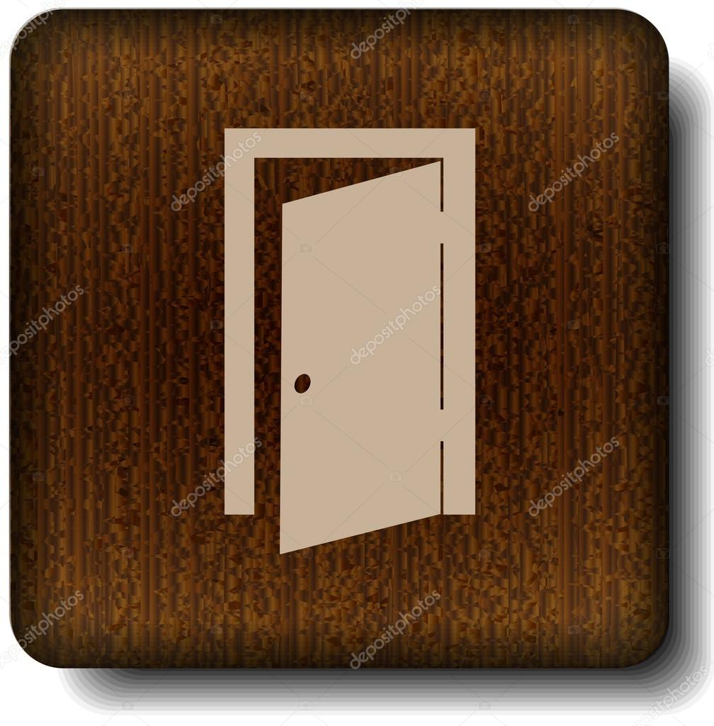 Exit icon — Stock Vector #12212055