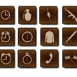 Set of game icons — Stockvektor #12261495