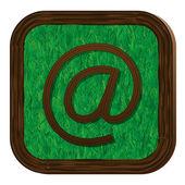 Träd-växtbaserade e-ikonen — Stockvektor