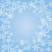 Snowflakes background — Wektor stockowy