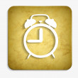 Parchment alarm icon — Stock Vector #40145753