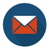 Envelope parchment icon — Stock Vector