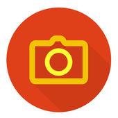 Photo parchment icon — Stock Vector