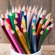 Color pencils — Stockfoto #13351082