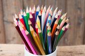 Lápis de cor — Fotografia Stock
