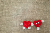 Valentine karta — Stock fotografie