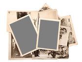 Fotos antigas — Fotografia Stock