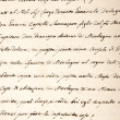 manuscrito — Foto Stock