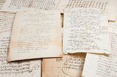 Manuscripts — Stock Photo