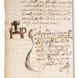 Old manuscript — Stock Photo #22158393