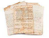 Old manuscripts — Stockfoto