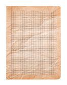 Old sheet — Stock Photo