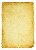 Gammalt pergament — Stockfoto