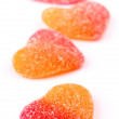 Gummy heart shaped — Stock Photo #18473459