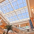 Stock Photo: Skylight in commercial building