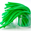 Soft sticks tangle colored licorice — Stock Photo #34090473