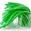 Soft sticks tangle colored licorice — Stock Photo #34566941