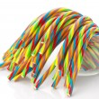Soft sticks tangle colored licorice — Stock Photo #34567353