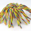Soft sticks tangle colored licorice — Stock Photo #35368683