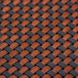 Skin fiber braided copper plating, making abstract close — Stock Photo #35451665