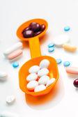 попурри из таблеток и лекарств изменяться — Стоковое фото