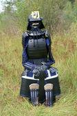 Japanese medieval armor — Stock Photo