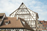 Half-timbered houses in Petite-France, Strasbourg — Stock Photo