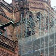 Restoration of the  Strasbourg cathedral — Stock Photo