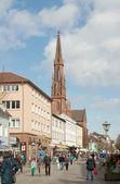 Hauptstrasse, Offenburg, Germany — Zdjęcie stockowe