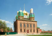 Restoration of the Dormition Cathedral. Tula Kremlin, Russia — Stock Photo