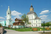 Nicholas-Zaretsky (Christmas) church and the belfry. Tula, Russi — Stock Photo