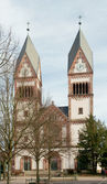 Holy Trinity catholic church, Offenburg, Germany — Stock Photo