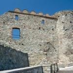 Devin castle ruins (864 - 15th century), Bratislava, Slovakia — Stock Photo #27449467