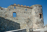 Devin castle ruins (864 - 15th century), Bratislava, Slovakia — Stock Photo