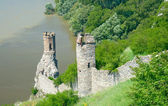 Devin Castle. Maiden Tower. Bratislava, Slovakia — Stock Photo
