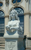 Sphinx at the entrance to Upper Belvedere, Vienna, Austria — Stock Photo