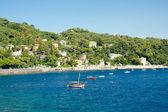 Santa Margherita Ligure, view of bay, Italy — Stock Photo