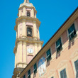 Stock Photo: Bell tower of Basilicdei Santi Gervasio e Protasio (circ1118
