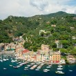 Panorama of Portofino, Liguria, Italy — Stock Photo