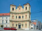 Trinitarian Church (1717), Bratislava, Slovakia — Zdjęcie stockowe
