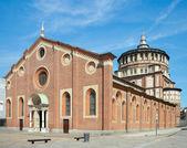 Chiesa di Santa Maria delle Grazie(1497), Milan, Italy — Stock Photo