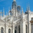 Milan Cathedral (1386-1965), Milan, Italy — Stock Photo