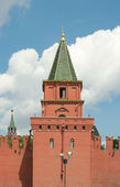Petrovskii (ugreshskaya) torre de moscú kremlin, moscú, russi — Foto de Stock