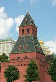 Taynitskaya Tower (Water) Tower of Moscow Kremlin — Stock Photo
